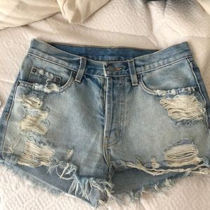 LF / Carmar Denim Shorts - size 27 UNWORN